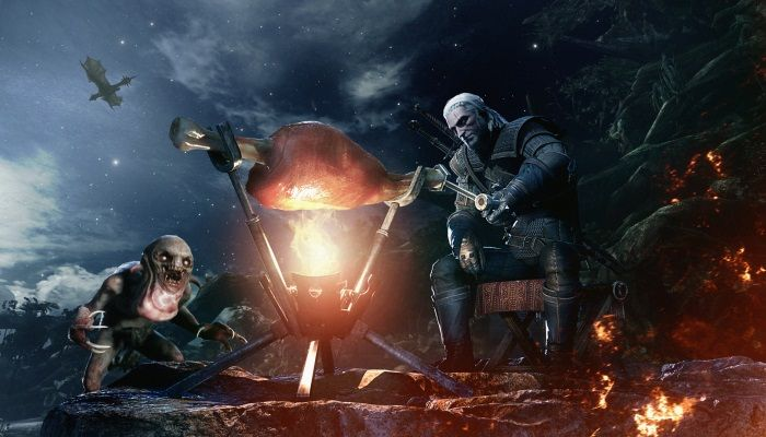 Geralt of Rivia Now Ensconced in Monster Hunter World on Consoles