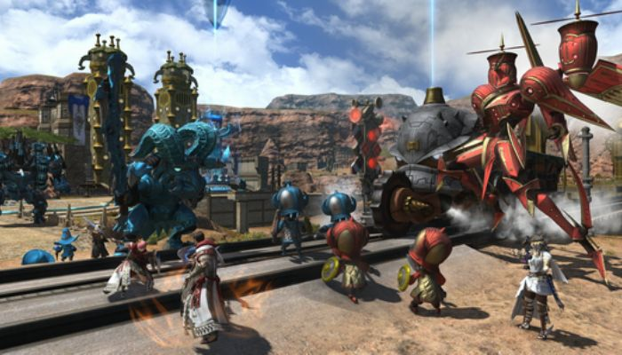 Final Fantasy XIV Patch v4.55 Launches with Eureka Hydatos, The Forbidden Land & More