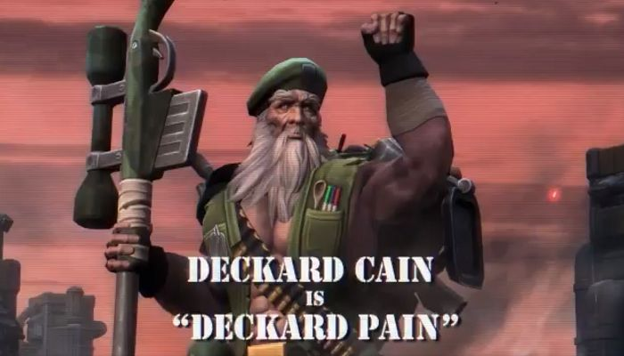 Heroes of the Storm Resistance Skins Includes One for Deckard PAIN! - MMORPG.com