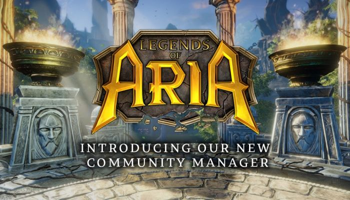 Legends of Aria Team Scores a New Community Manager