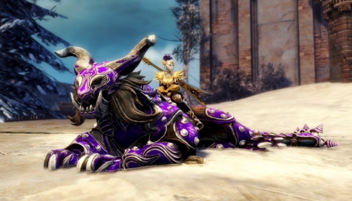 Guild Wars 2 WvW Mount, the Warclaw, Scratches Its Way into the Game - Guild Wars 2 News