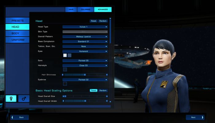 Cryptic Retooling the Star Trek Online Character Creation Process - Star Trek Online News