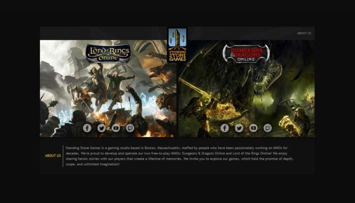 Dungeons & Dragons Online & Lord of the Rings Online Servers Remain Down