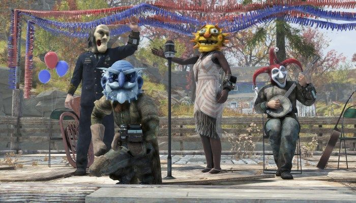 Fallout 76 Patch 7 to Include Creepy Masks Earned During Fasnacht Parade Event - Fallout 76 News