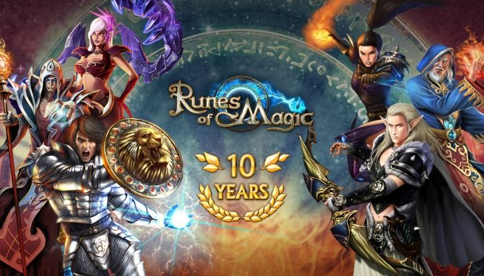 Runes of Magic Invites Players to Its 10th Birthday Party