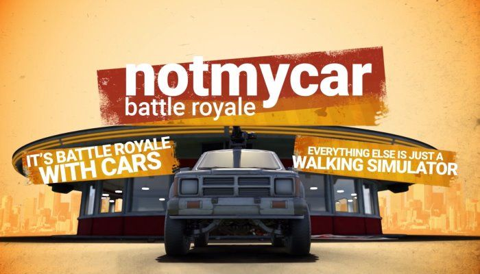 Vehicle Battle Royale Game 'notmycar' Headed to Steam Early Access in April