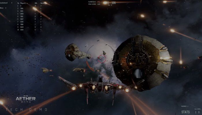 In EVE: Aether Wars Demo, Nearly 4k Players & 10k AI-Controlled Vessels Went to Battle