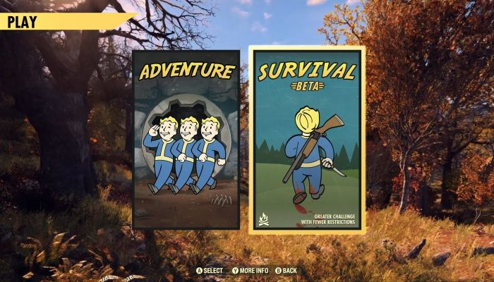 Survival Mode is Coming to Fallout 76 Next Week & Here's a Preview