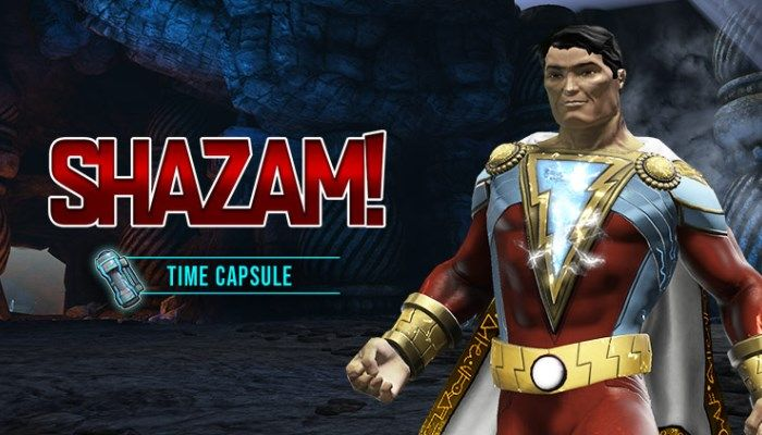 Shazam Time Capsule Arrives in DC Universe Online