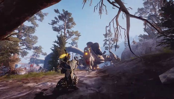 Warframe's Plains of Eidolon on PC Receives a New Graphical Paint Job