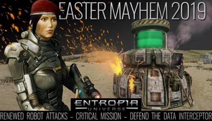 Entropia Universe Players Can Drop in for Easter Mayhem 2019