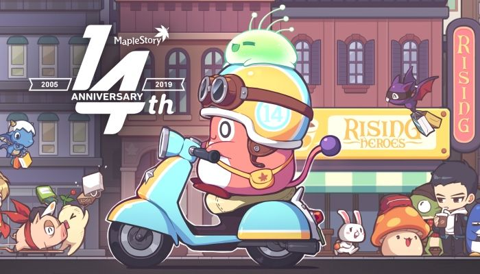 MapleStory Set to Kick Off 14th Anniversary Fete