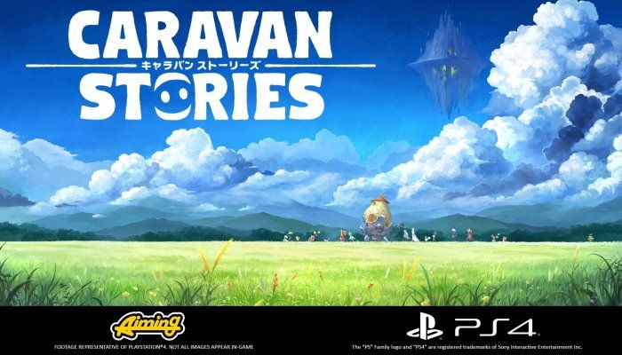 Anime-Inspired MMO, Caravan Stories, Headed to PlayStation 4 in July