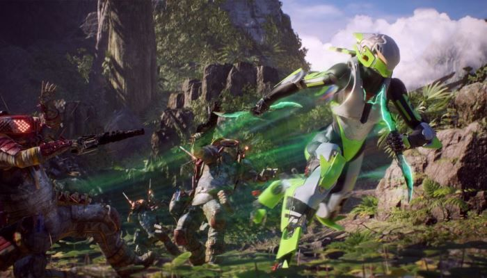 Anthem Updated to 1.1.0 That Tweaks Masterwork Weapons & Lets Players Change Gear in the Field