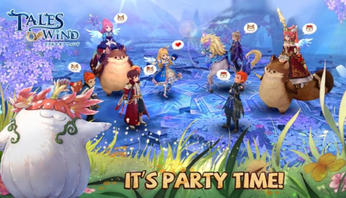 Mobile MMO Tales of Wind Launches for iOS & Android Devices