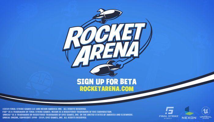 Nexon Announces Cross-Platform 3v3 FPS Rocket Arena