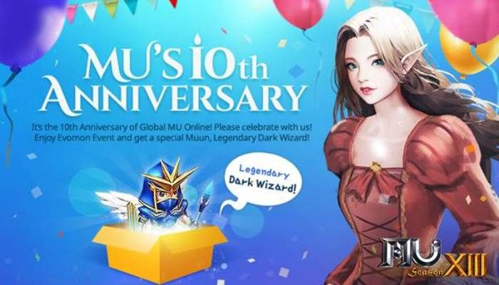 MU Online's Tenth Anniversary Event Begins with Special Event Rewards & More - MMORPG.com