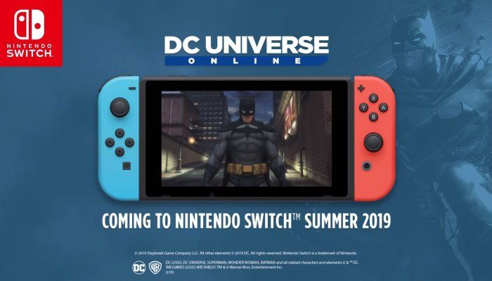 DC Universe Online is Headed to Nintendo Switch