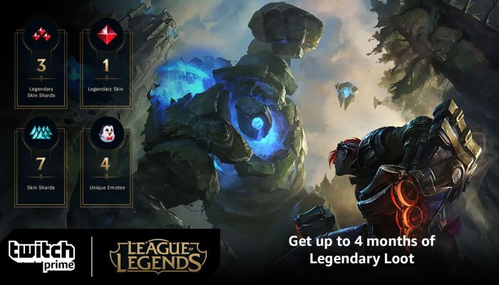 Claim Tons of League of Legends Loot Thanks to Twitch Prime Promotion