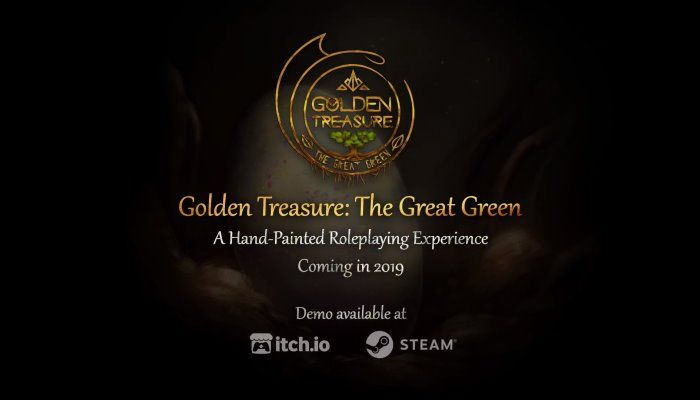 Golden Treasure: The Great Green Puts You in a Dragon's Shoes
