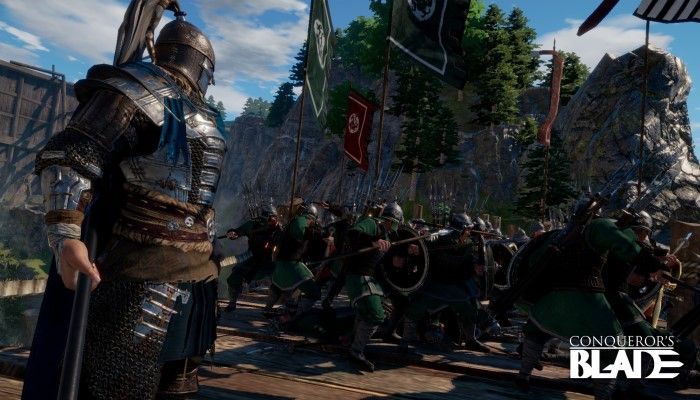 You Can Charge Into the Conqueror's Blade Open Beta Starting Today