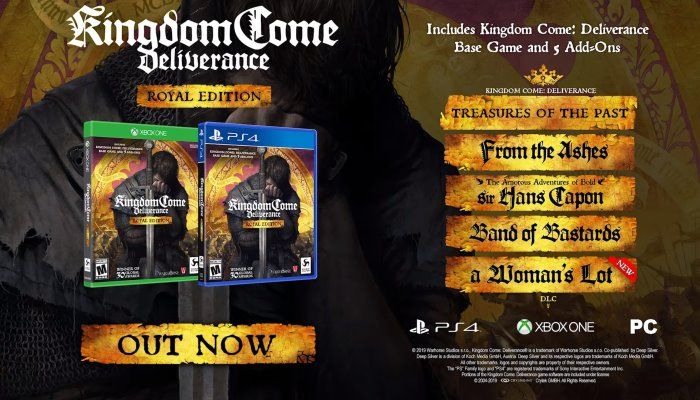 Kingdom Come: Deliverance Royal Edition Lands on Consoles - Kingdom Come Deliverance News