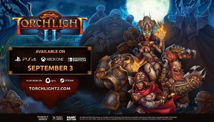 Torchlight II is Headed for PlayStation 4, Xbox One & Nintendo Switch This Fall