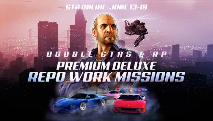 Grand Theft Auto Online Players Can Earn Big Bucks for Repo Work & Missile Base Modes