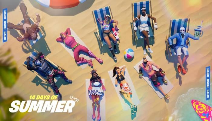 14 Days of Summer Lands in Fortnite as Revenues Tumble Year-Over-Year