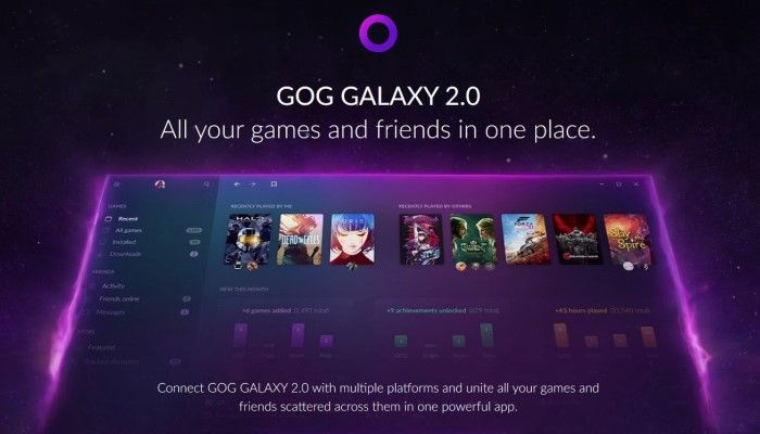 GoG Galaxy 2.0 Beta Testing Begins - 'All Your Games & Friends in One Place'