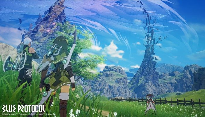 Bandai Namco Announces Blue Protocol, an Anime Styled Online ARPG for PC