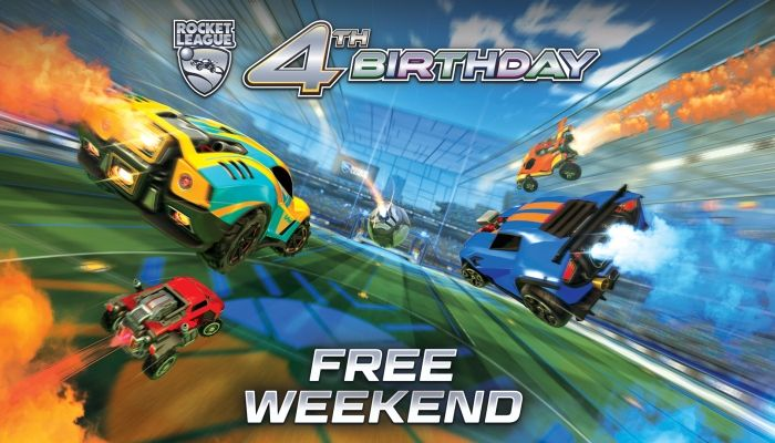 Play Rocket League for Free Starting Today!
