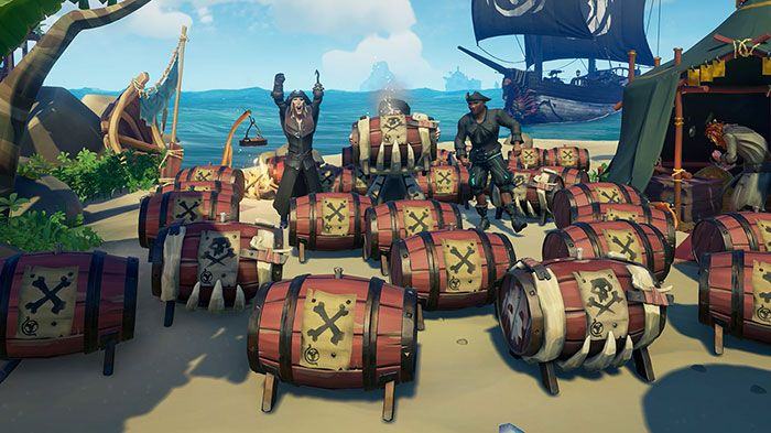 Sea of Thieves Patch Introduces Black Powder Stashes, Fixes, More