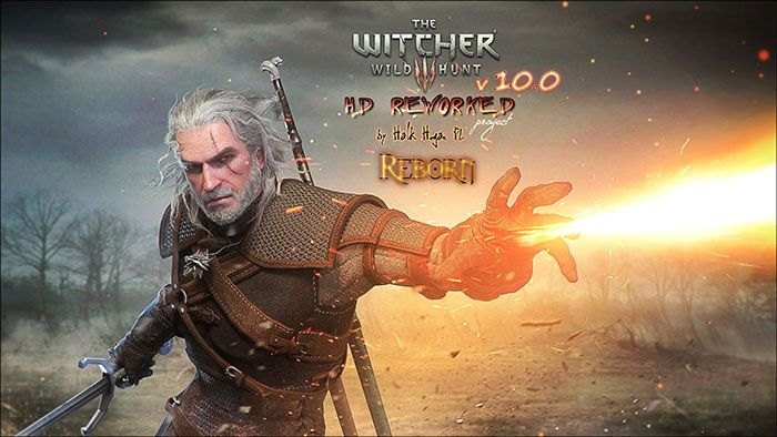 Witcher 3 HD Reworked Mod 10.0 Update Available