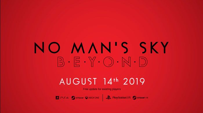 No Man's Sky Beyond Releasing August 14
