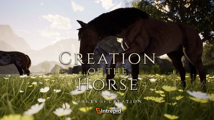 Ashes of Creation Devblog Shows Off Creation Of Horses