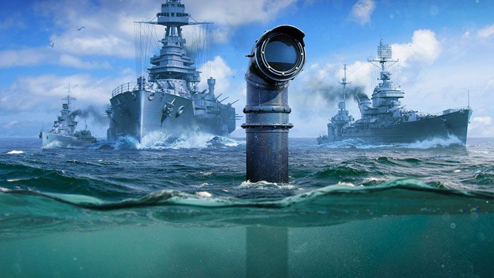 Submarines Are Diving Into World of Warships