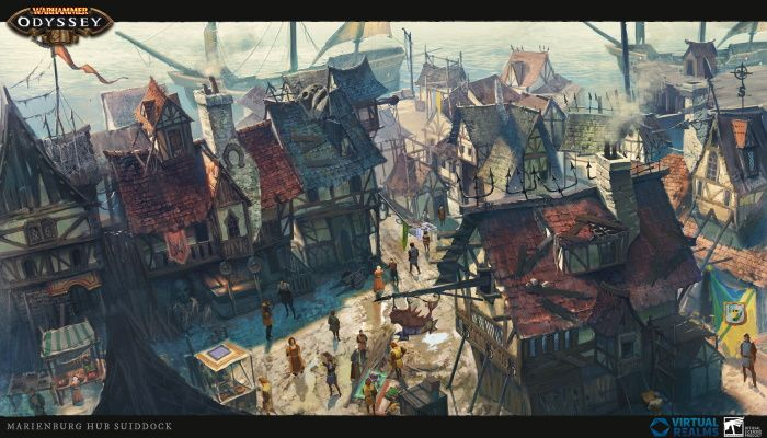 Nuevo MMORPG móvil ambientado en el viejo mundo de Warhammer anunciado