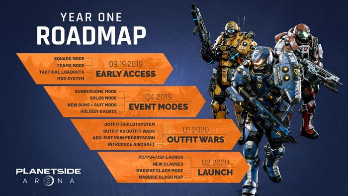 Planetside Arena Hitting Steam Early Access September 19
