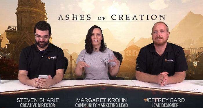 Ashes of Creation Livestream Showcases Combat, Improvements