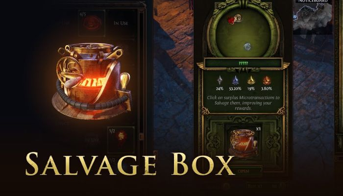 Path of Exile Launches, Then Pulls, New Salvage Box Following Outrage