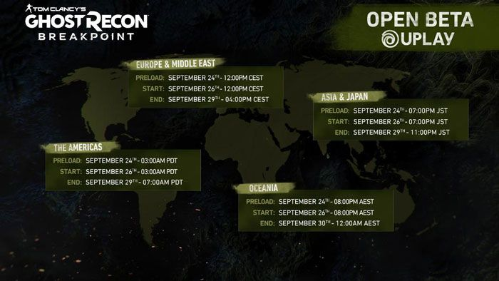 Ghost Recon Breakpoint Open Beta Preload Now Available ...