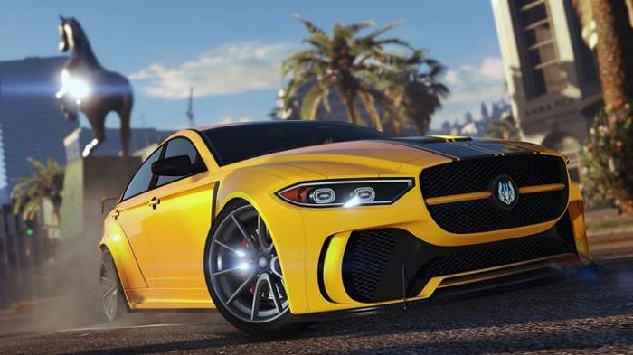 Drive The Ocelot Jugular Sports Car In GTA Online's Latest Update
