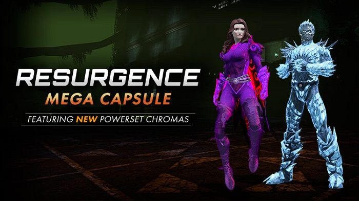 DCUO Resurgence Returns With Powerset Chroma Items Added To The Marketplace - DC Universe Online News