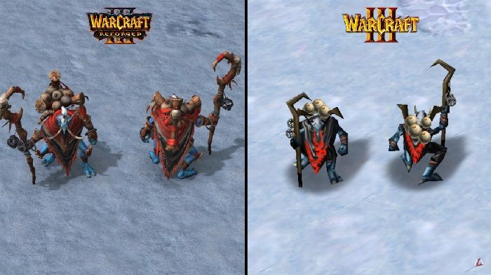 Warcraft 3 Reforged Videos Showcase Upgraded Models