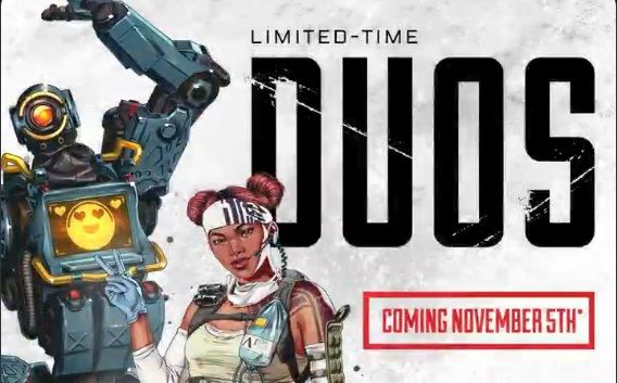 Limited Time Duos Mode Coming to Apex Legends November 5