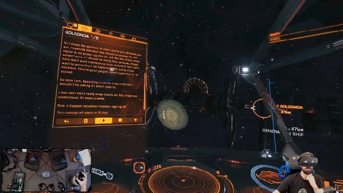 Elite Dangerous players have discovered a Ghost Ship Full of People