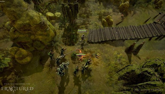 SpatialOS-based sandbox MMORPG 'Fractured' Receives Alpha November 20