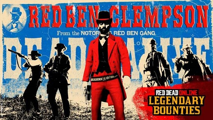 Hunt Legendary Gang Leader Red Ben Clempson in Red Dead Online