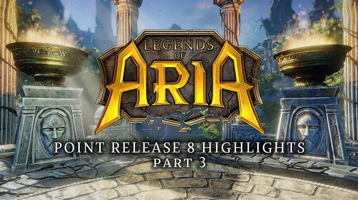 Legends of Aria Point Release 8 Includes NPC Factions, Township Boards, More